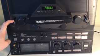 Teac x2000m reel-to-reel walk around