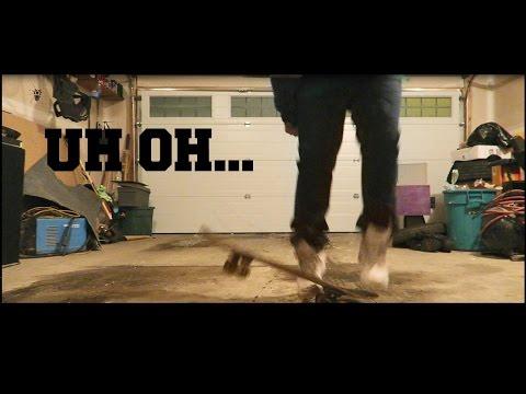SKATEBOARDING FAIL!