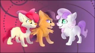 Как бы выглядели Пони В виде кошек и собак.