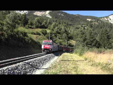 Trailer Albulabahn 2015 in 4K UHD