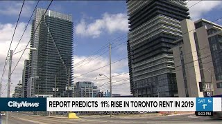 Steep Toronto rents predicted to increase by 11 per cent