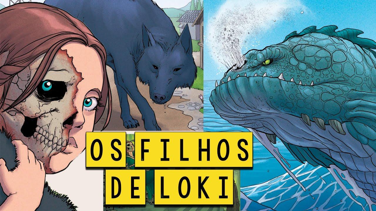 Os Assustadores Filhos de Loki - Mitologia Nórdica em Quadrinhos - Foca na História