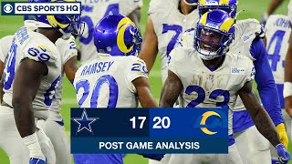 Week 1 Recap: Rams benefit from late controversial call, outlast Cowboys 20-17 | CBS Sports HQ