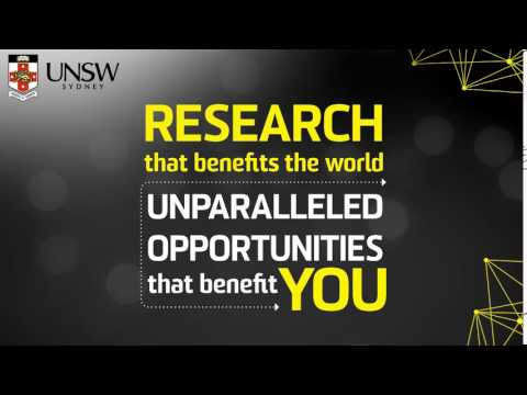 UNSW Sydney - Recruiting the world's best research minds