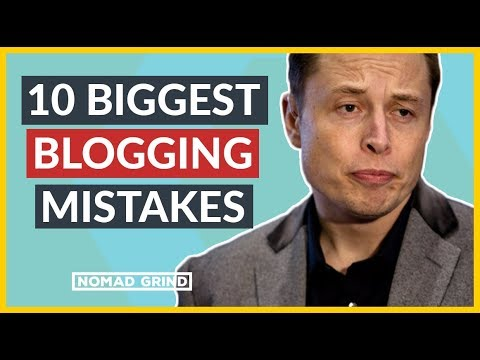 💻💰 BLOGGING MISTAKES: 10 Things Not To Do When Starting A Blog
