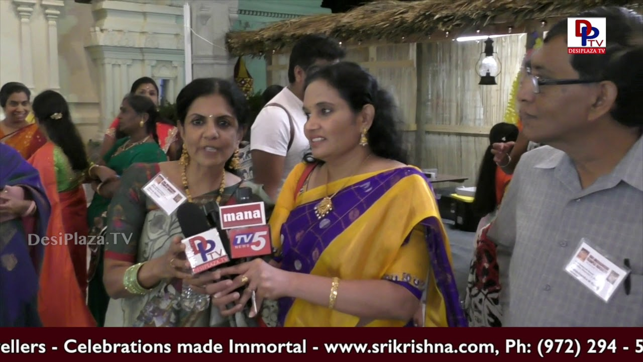 Houston - Highlights & Visuals of Meenakshi Temple Diwali Celebrations - Texas, USA
