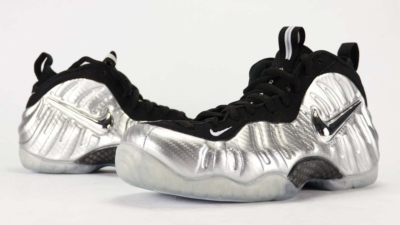 f9ac23a3aa6 Nike Air Foamposite Pro Silver Surfer Review + On Feet - YouTube