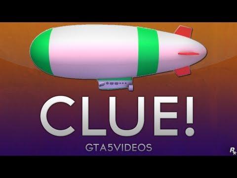 GTA V - Clue behind the Blimp
