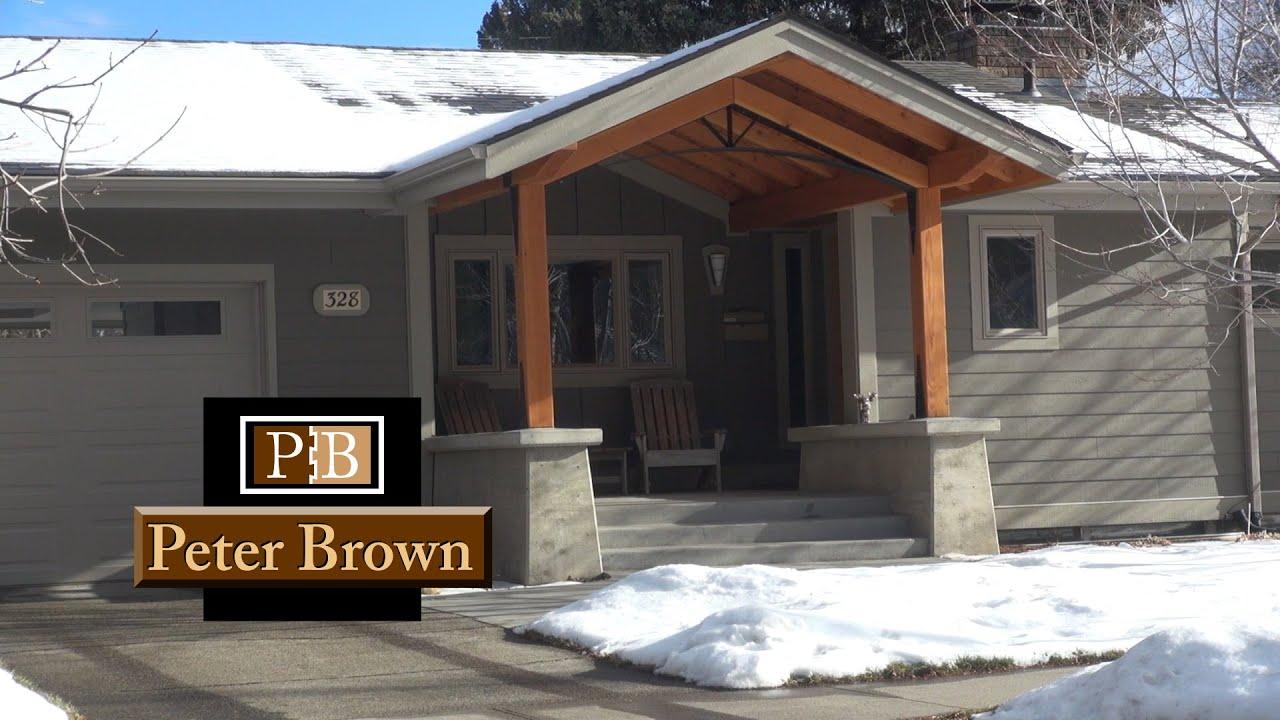 A Front Patio Renovation In Bozeman Montana