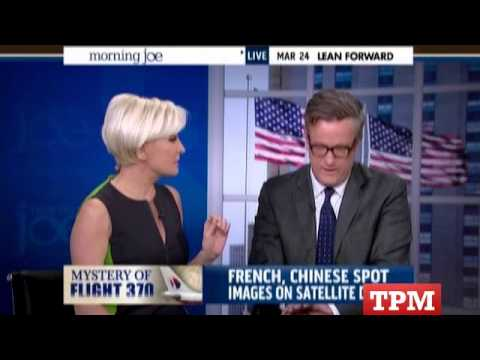 Mika Brzezinski Shuts Down Co-Host's Missing Malaysia Jet Speculation