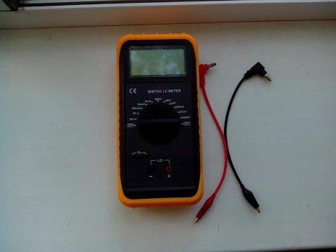 Мультиметр - DM 6243 / Измерение емкости и индуктивности / Обзор