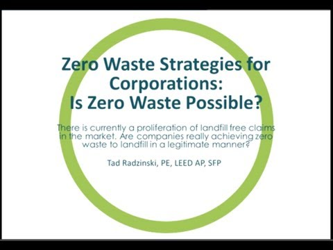 Zero Waste Strategies for Corporations