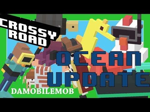 ★ CROSSY ROAD Ocean Update | All Standard Characters Unlocked (Ocean Update July 2018)