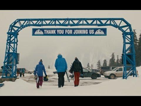 Skiing In Northern British Columbia, Canada