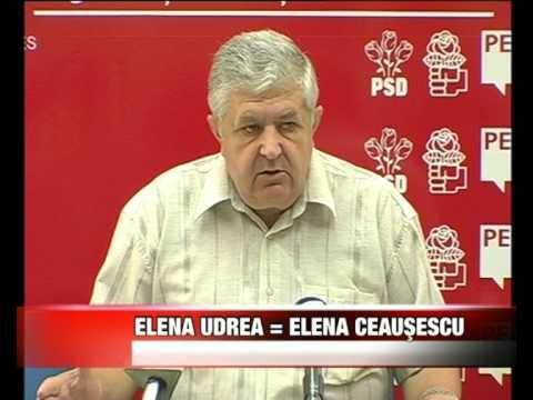 Elena Udrea egal Elena Ceausescu