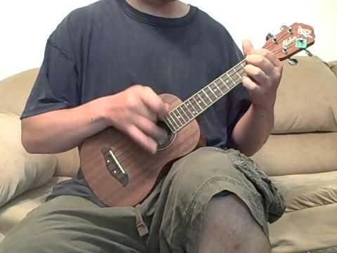 Blue Moon of Kentucky on ukulele