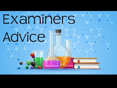 Examiners 5 top tips for A-level chemistry exams