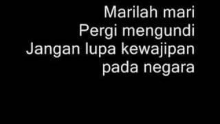 Mari Mengundi + Lirik Lagu (09 May 2018)