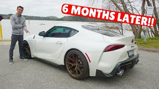 Owning The 2020 A90 Toyota Supra For 6 Months! *UPDATE*
