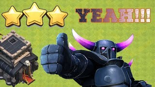 You cannot miss 3 star with this attack strategy | clash of clans 2018 | attack with low level hero