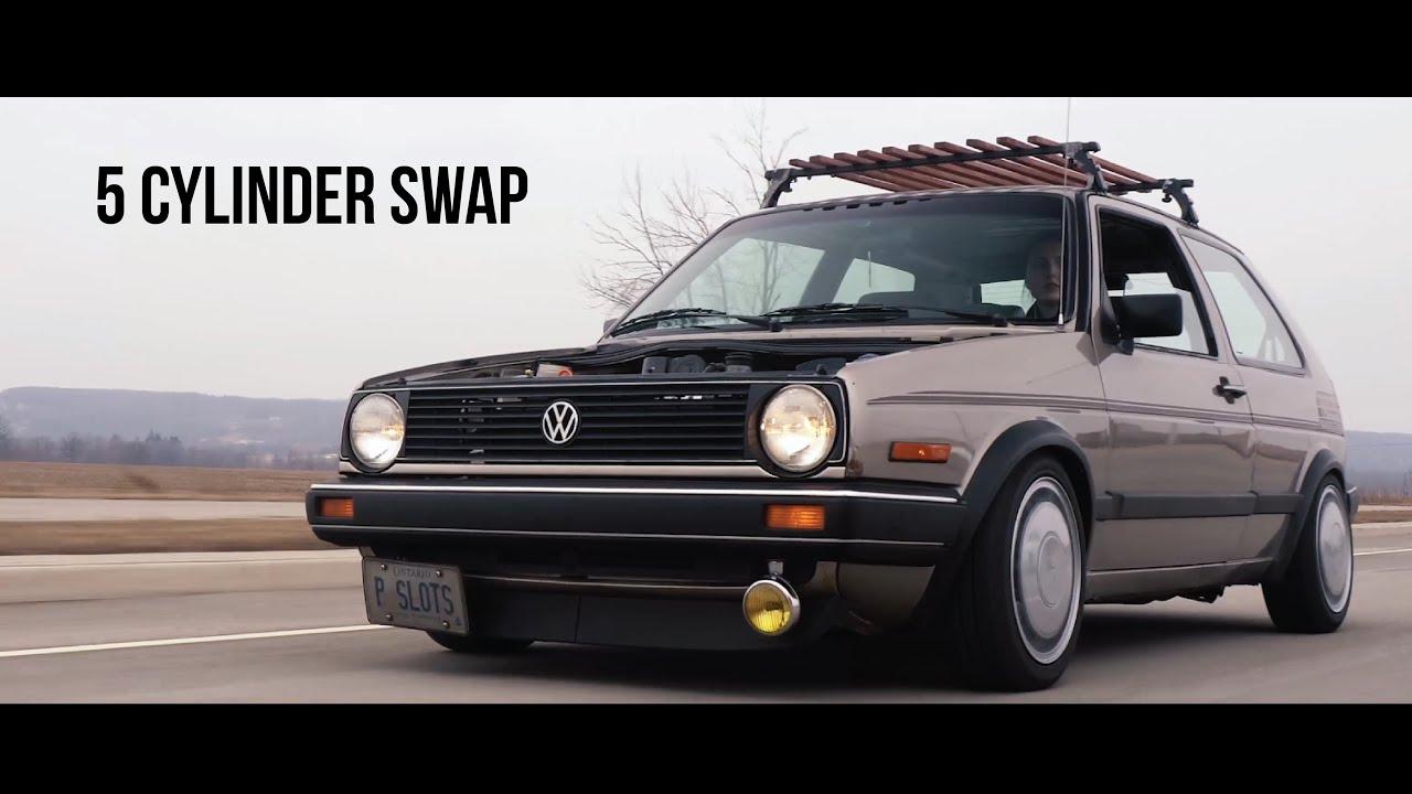 Engine Swap Kit – VW MK2 2 5L 07K