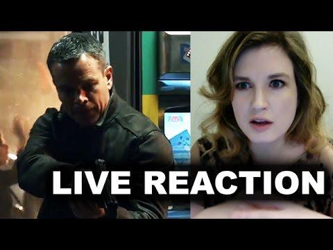 Jason Bourne Trailer Reaction