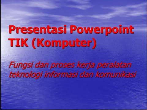 Fungsi dan proses kerja peralatan teknologi informasi dan komunikasi Mp3