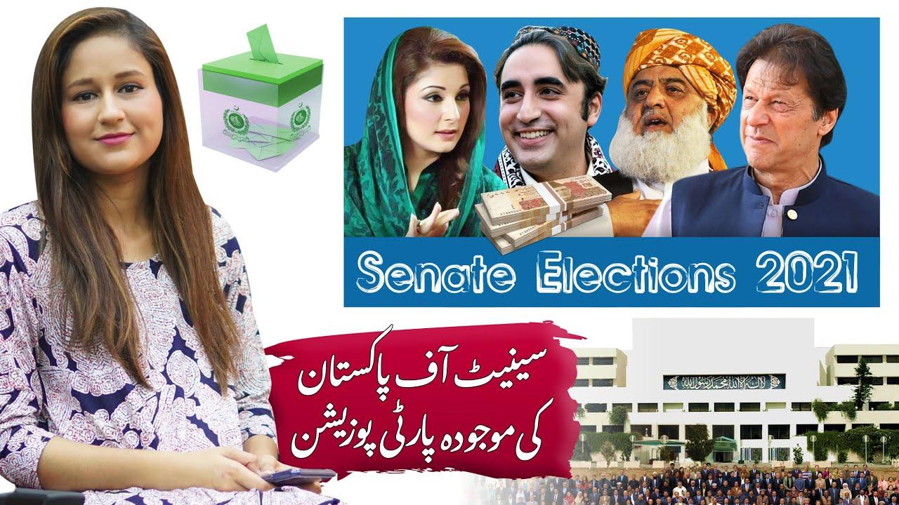 Party Position After Senate Election's 2021 | PM Imran Khan, Maryam Nawaz, Bilawal Bhutto & Molana