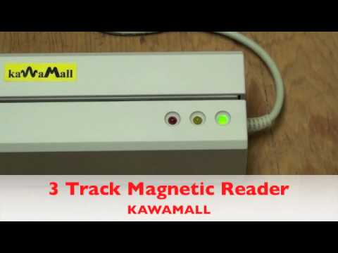 Kawamall Magnetic Card Reader Writer Installation And Track Instructions