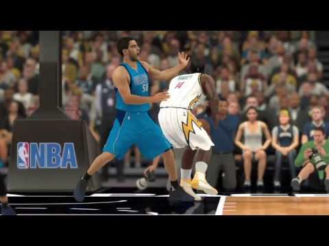 NBA2K17 Hall of Fame Project Rookie Game 1 - Dallas Mavericks