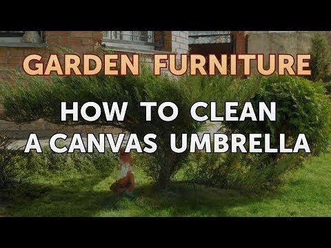 How to Clean a Canvas Umbrella