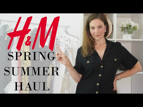 HandM TRY ON HAUL Spring Summer 2019 | Fashion Over 40