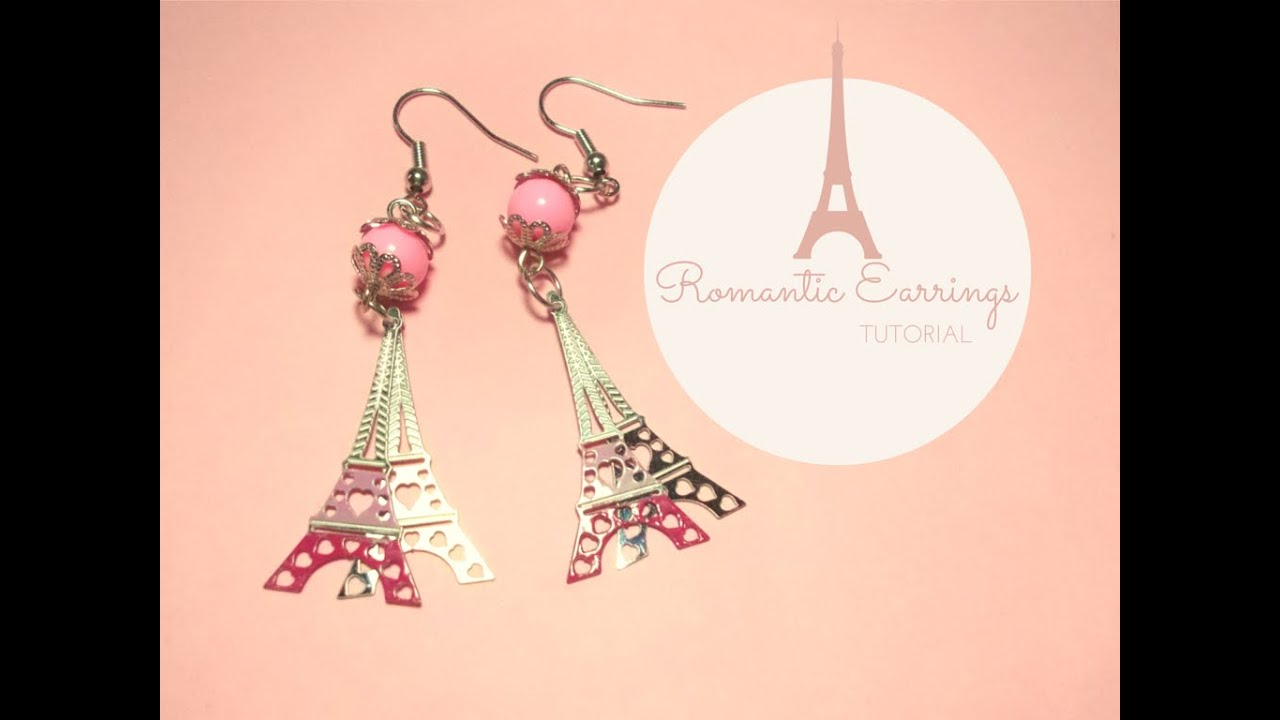 5ac5c8524 How to Make romantic dangling Earrings ♥ Jewelry Making Tutorial ♥ (with  PandaHall materials)