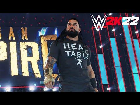 WWE 2K22 выйдет в марте 2022 года, представлен новый трейлер