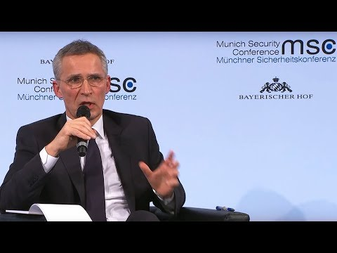 NATO Secretary General speech at Munich Security Conference, 16 FEB 2018, Part 2 of 2