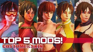 """TOP 5 """"SAKURA MODS"""" in Street FighteR V:AE!"""