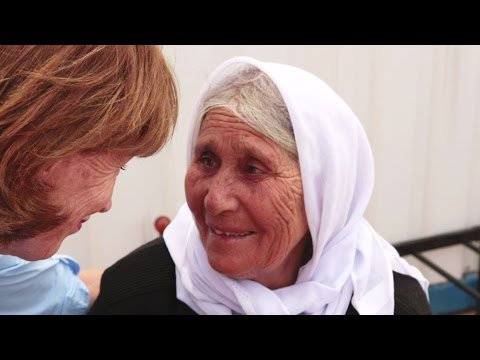 Giving All for Refugees in Kurdistan