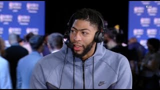 Anthony Davis Interview / Feb 17 / 2018 NBA All-Star Practice