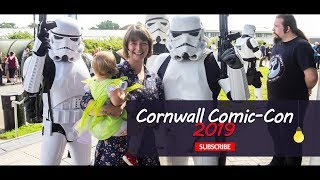 Cornwall UK Comic Con and Gaming Festival 2019!!!