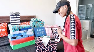 OPENING UP OUR CHRISTMAS GIFTS FINALLY!!