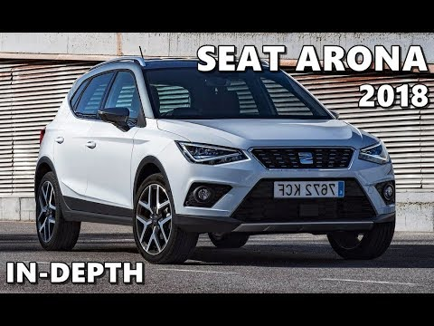 2018 seat arona nevada white driving exterior interior youtube. Black Bedroom Furniture Sets. Home Design Ideas