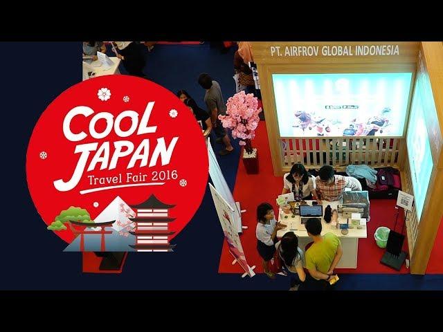 COOL JAPAN TRAVEL FAIR 2018 | H.I.S. Travel x Airfrov Indonesia