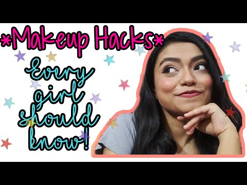 10 Makeup Hacks Every girl should know || Shrutika Dash