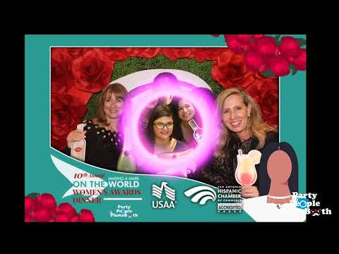 Party People Photobooth - SAHCC Making A Mark In The World Women's Awards Dinner