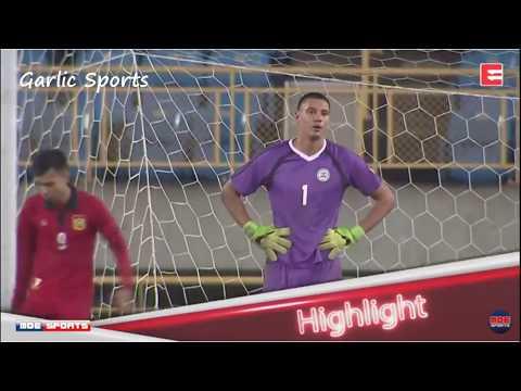 PHILIPPINES AZKALS VS LAO 3-1 Highlights CTFA International Tournament  12-1-17