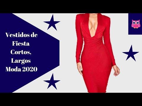 42 VESTIDOS DE FIESTA 2020, VESTIDOS LARGOS Elegantes, VESTIDOS CORTOS Elegantes, MODA Y Tendencia