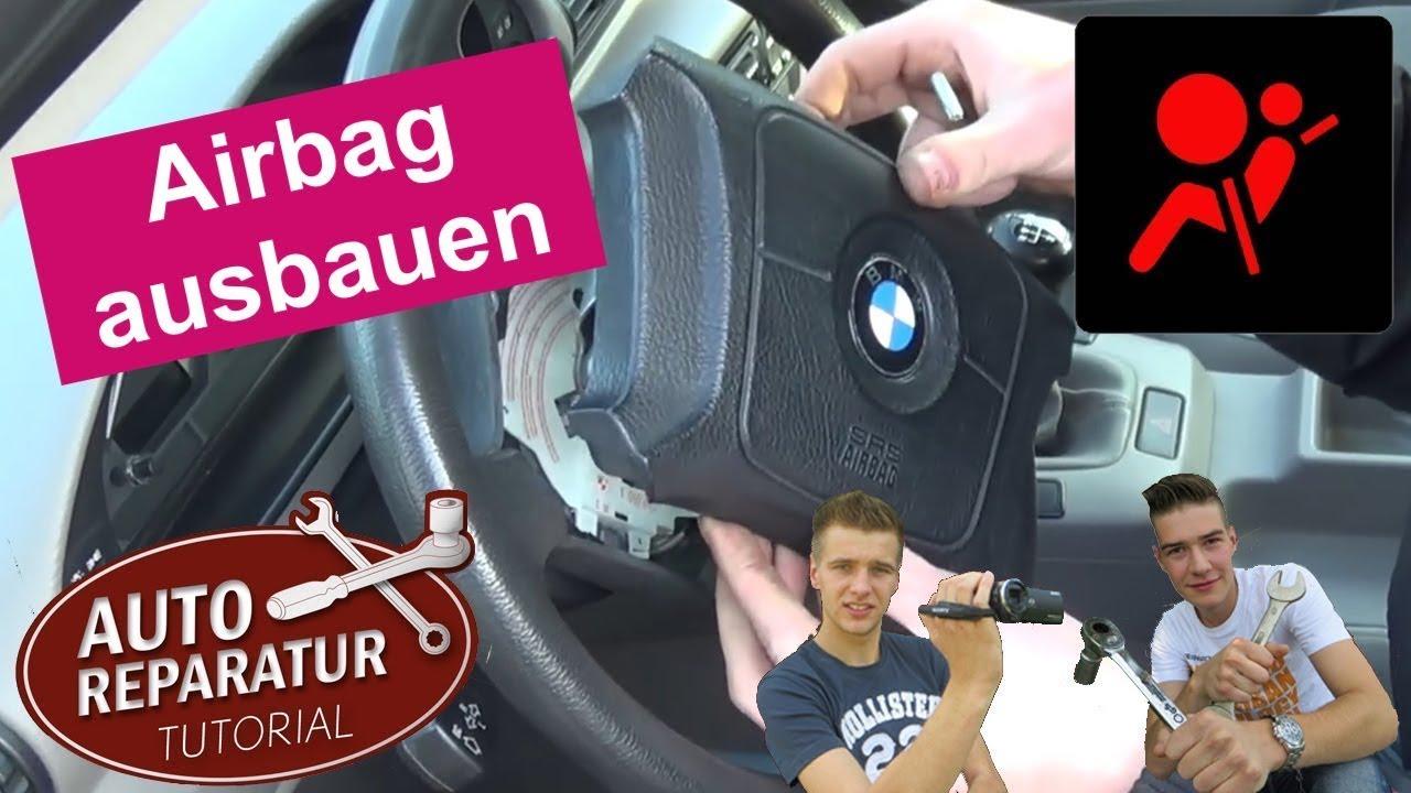 Airbag Lenkrad Ausbauen Bmw E36 E46 E39 Airbag Removal