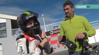 Calafell Esportiu: Alex Toledo, els inicis del pilot calafellenc