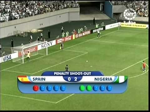 U17 2007 World Cup Final Spain v Nigeria Part 4