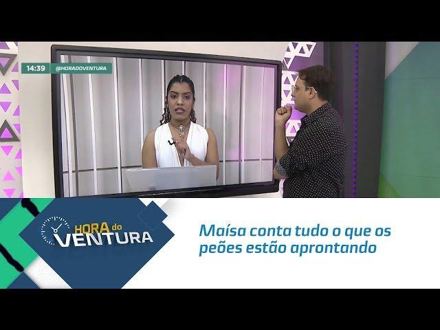 """Maísa conta tudo o que os peões estão aprontando em """" A Fazenda 11"""" - Bloco 02"""